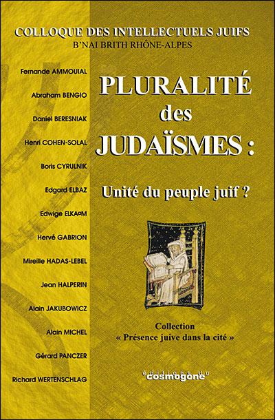 Pluralité des judaïsmes