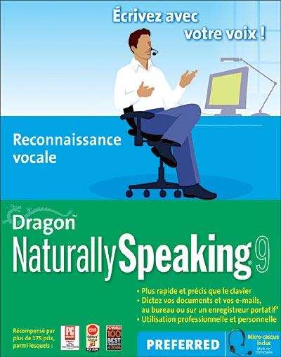 Dragon Naturally Speaking 9 Version Preferred Cd Rom Achat