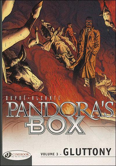 Pandora's Box - tome 3 Gluttony
