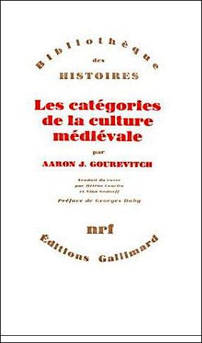 Les catégories de la culture médiévale