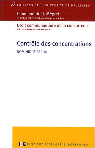Le contrôle des concentrations