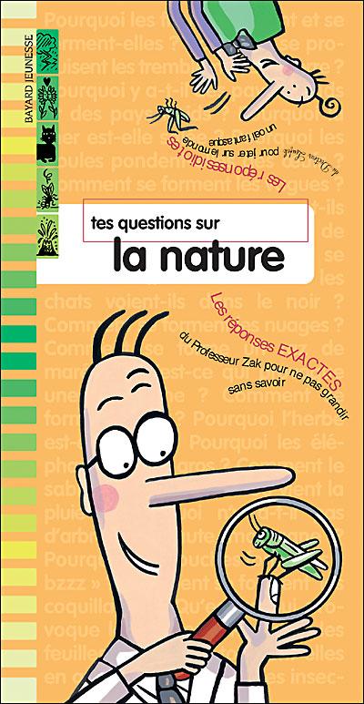 Tes questions sur la nature (zak et lo.)