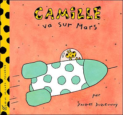 Camille la girafe -  : Camille va sur Mars