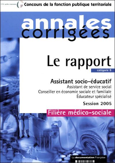 Rapport, assistant socio-éducatif et assistant de service social