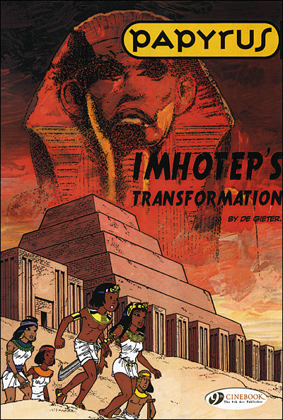 Papyrus - tome 2 Imhotep's Transformation