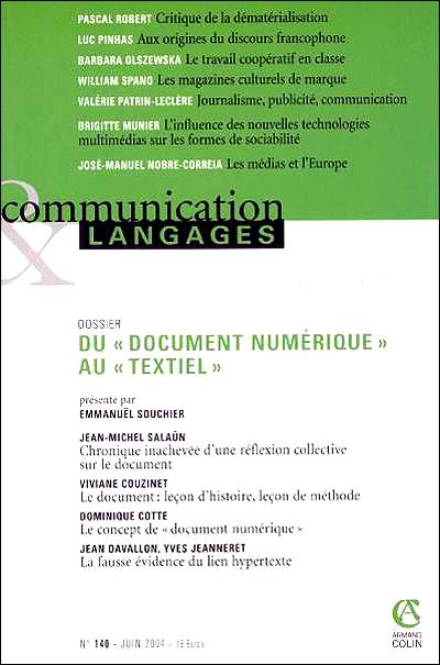 Document numérique