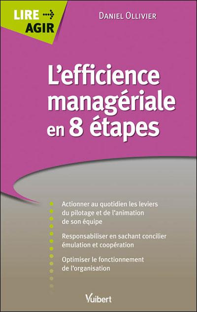 L'efficience manageriale en 8 étapes