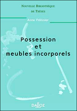 Possession et meubles incorporels