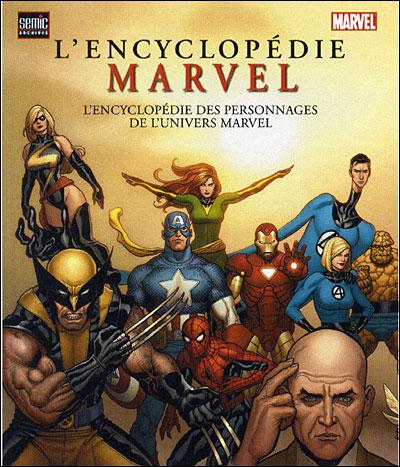 encyclopedie marvel