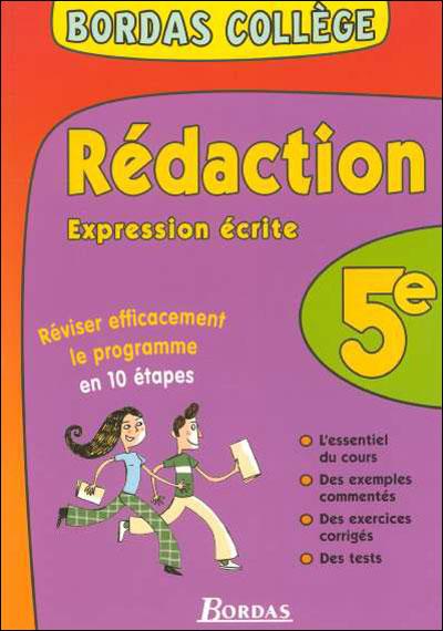 Expression écrite et rédaction 5ème