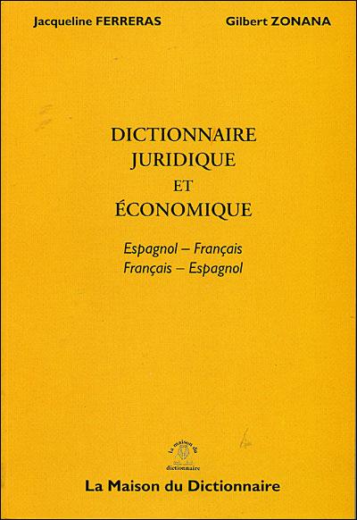 Dictionnaire juridique et économique
