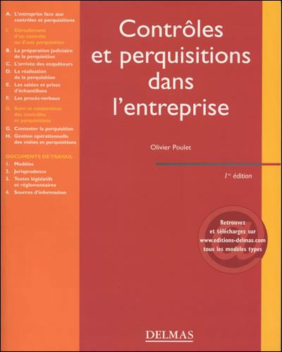 Contrôles et perquisitions dans l'entreprise - 1ère éd.