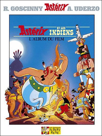 Astérix - L'album du film : Astérix et les indiens