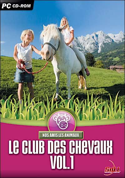 photo Sdll [société De Distribution De Logiciels De Loisirs] Le club des chevaux - Volume 1