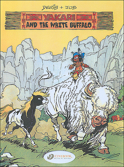 Yakari - tome 2 And the white Buffallo