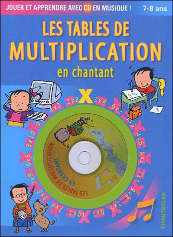 Les tables de multiplication en chantant, 7-8 ans