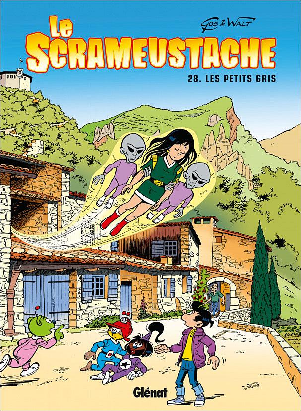 Le Scrameustache - Les petits gris Tome 28 : Le Scrameustache