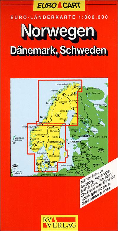 Norvege 1:800 000