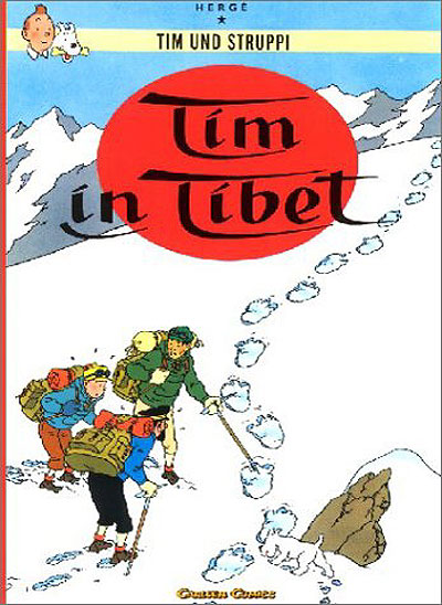 Tim in Tibet