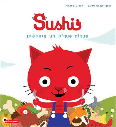 Les aventures du chat Sushi -  : Sushi prépare un pique-nique