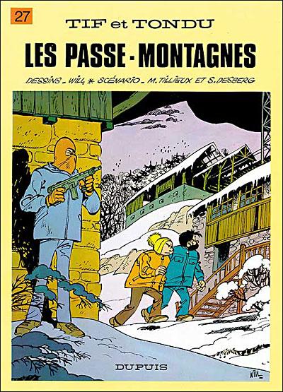 Tif et Tondu - Tome 27 : Les Passe-montagnes