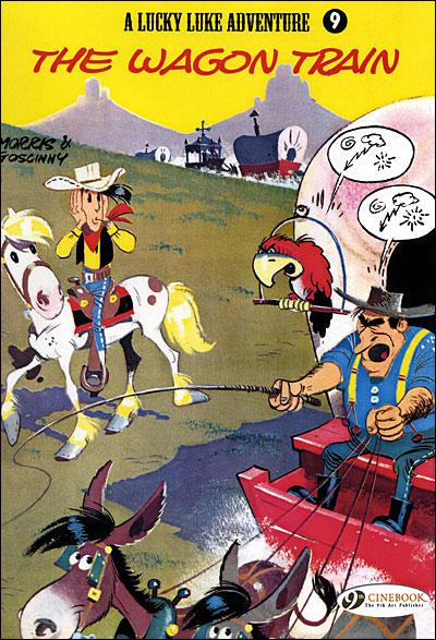 Lucky Luke - tome 9 The Wagon Train
