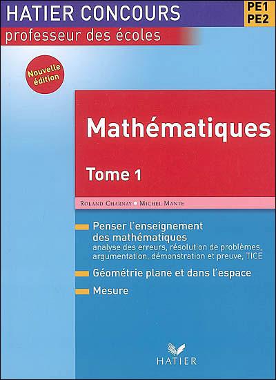 Les mathématiques au concours de professeur des écoles