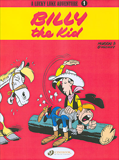 Lucky Luke - tome 1 Billy the kid