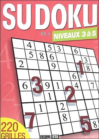 Sudoku : Niveaux 3 à 5