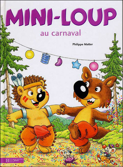Mini-Loup au carnaval