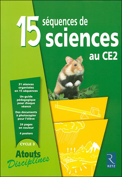 15 sequences de sciences ce2