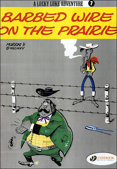 Lucky Luke - tome 7 Barbed wire on the prairie