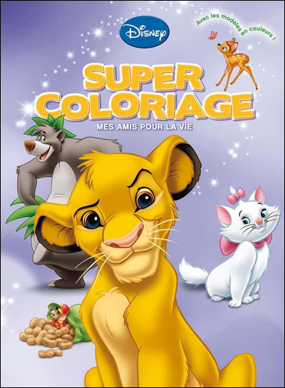 Mes Amis Pour La Vie Super Coloriage