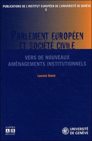 Parlement européen et société civile