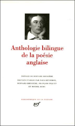 Anthologie bilingue de la poésie anglaise