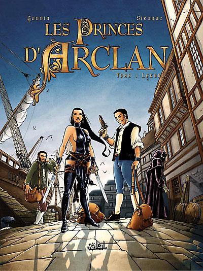 Les princes d'Arclan - Lekard
