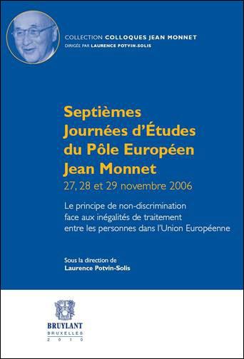 Septièmes Journées d'Études du Pôle Européen Jean Monnet