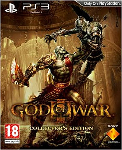god of war iii edition collector jeux vid o achat. Black Bedroom Furniture Sets. Home Design Ideas