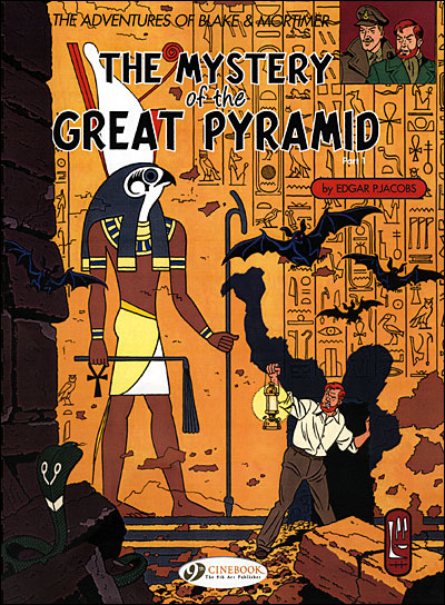 Blake & Mortimer - tome 2 The mystery of the great pyramid partie 1