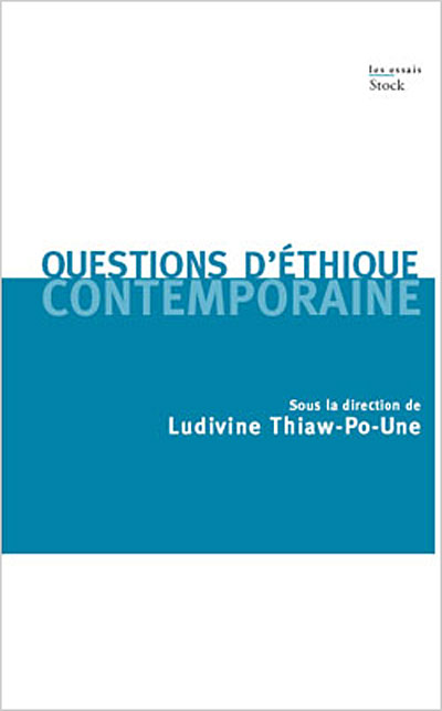 Questions d'éthique contemporaine