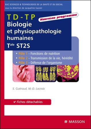 Biologie et physiopathologie humaines, Term ST2S