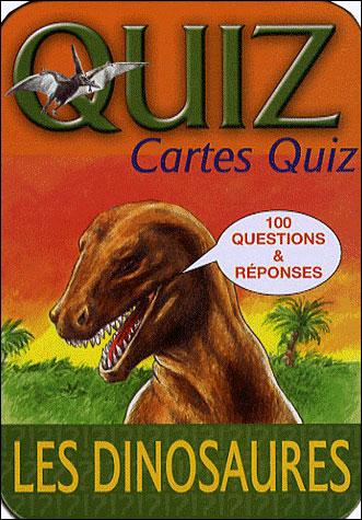 Boîte Quiz les dinosaures