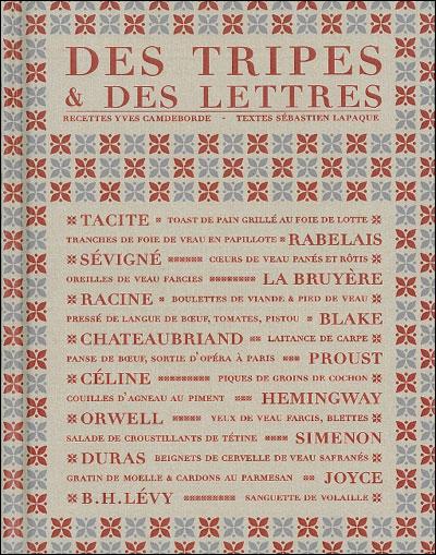 Des tripes et des lettres