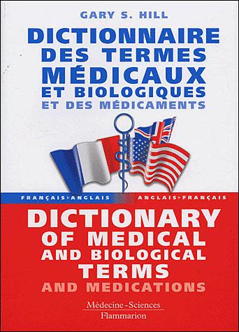Dictionnaire français-anglais / anglais-français des termes médicaux