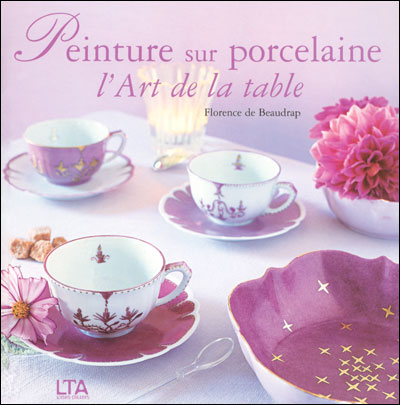 Peinture porcelaine art table