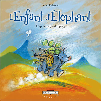 Enfant d'éléphant d'après Rudyard Kipling