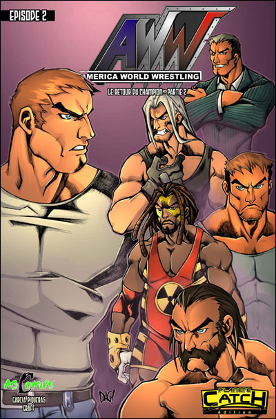 AWW - Tome 2 : America world wrestling