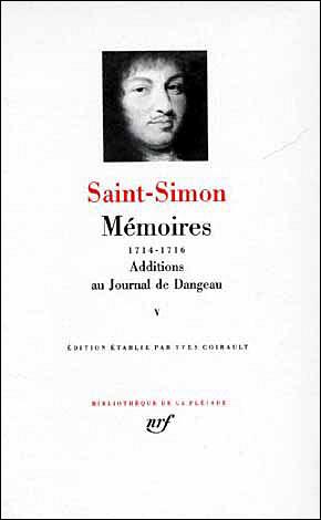 Mémoires / Additions au Journal de Dangeau (Tome 5)