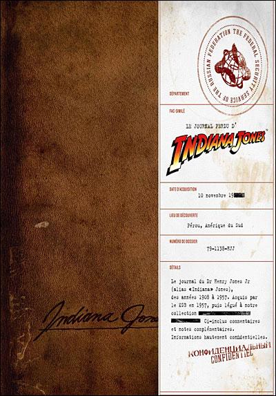 Le journal perdu d'Indiana Jones de Joanna Price