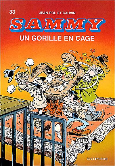 Un gorille en cage